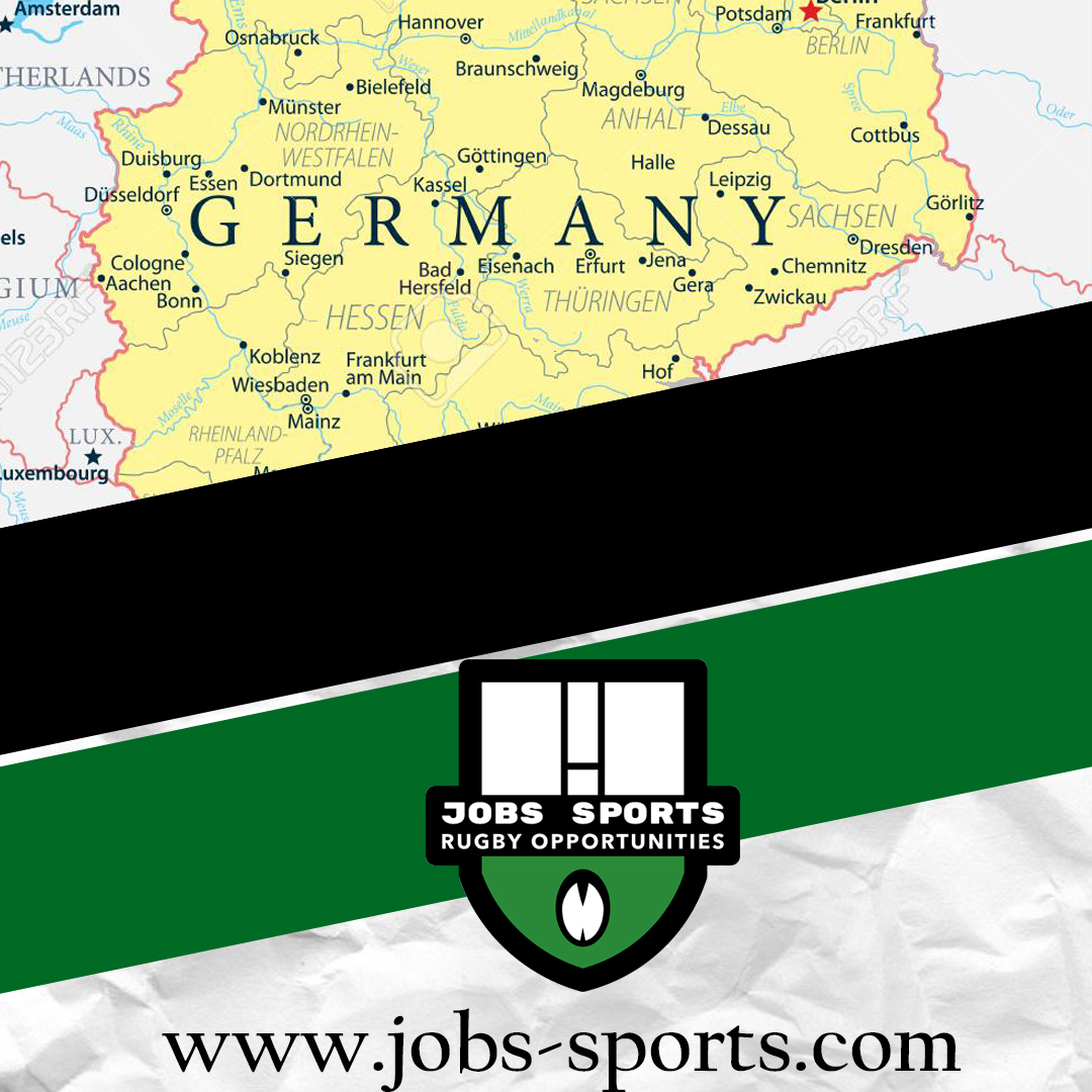 Germany club, looking for Second Row and Flanker, with European nationality.